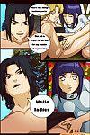[Comic Toons] Sasuke X Hinata X Temari (Naruto)