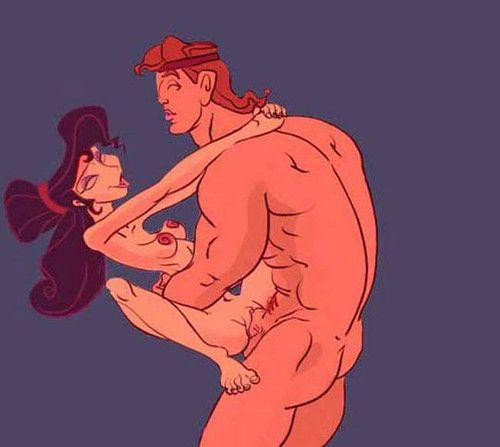 Hercules porn cartoons