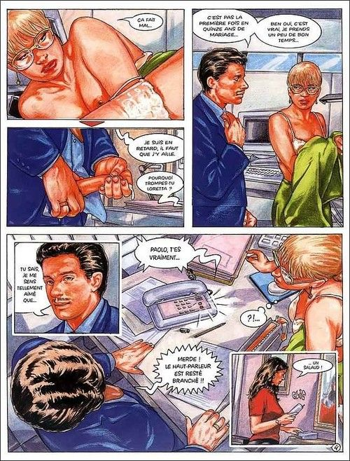 Porn comics with hot woman being fucked hard