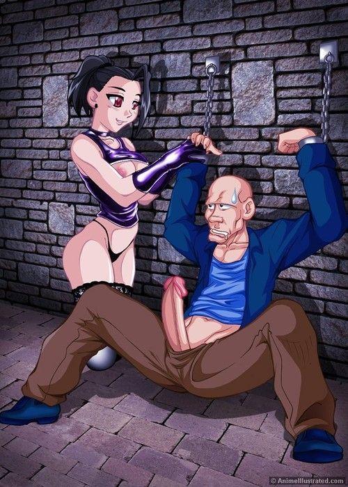 Anime dudes fucking hot chicks