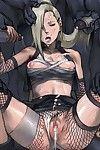 hentai monsters fucks Ino in her holes