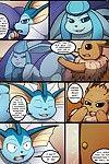 [Kuroodod] Oversexed Eeveelutions Vol. 1(Pokemon)