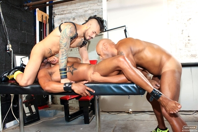 When Draven Torres is in charge of a lashing session, sometimes things get a little scary.  Today, Draven
