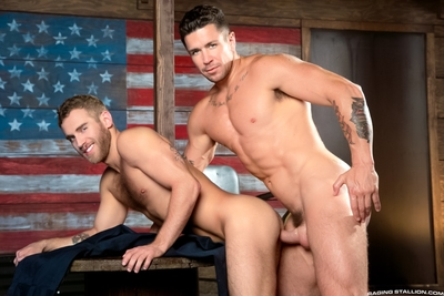 Trenton Ducati aims to have his species with Shawn Wolfe, and his lips not ever stray far from Shawn