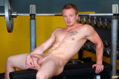 James Huntsman is known around the gym as category of a sneaky fucker. A workout fiend, he