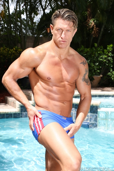 Handsome muscle-stud Bryce