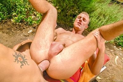 Basking in the afternoon sun, Andrew Jakk