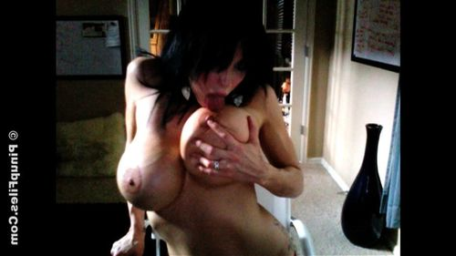 Slim and Stacked Brandy Robbins strips lacking her yellow bra to show off her Huge Thirty G s in her 3rd WebCam update