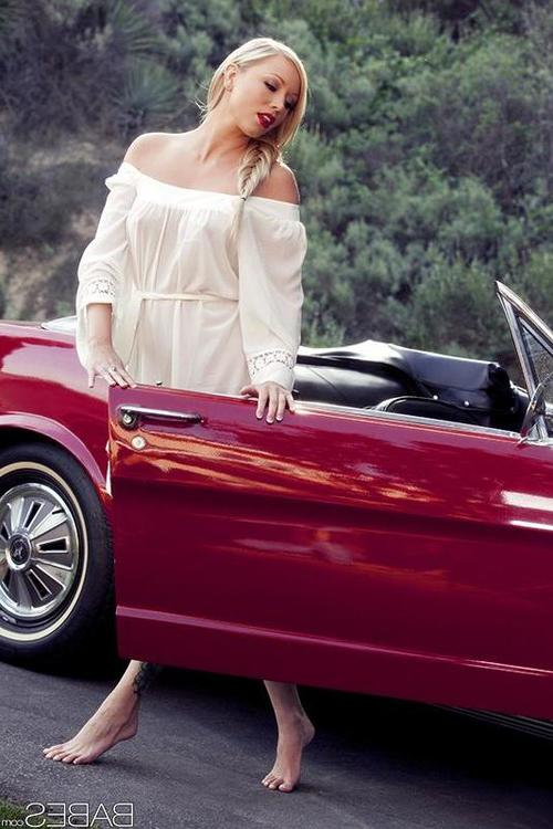 Any chance that babe can get, Brea Bennett fires up her cherry-red Mustang and takes off solo into the countryside. Feeling the sturdy engine hum lower than the hood, vibrations whirring through the steel with every rev, sends a rush of lust to her flawle