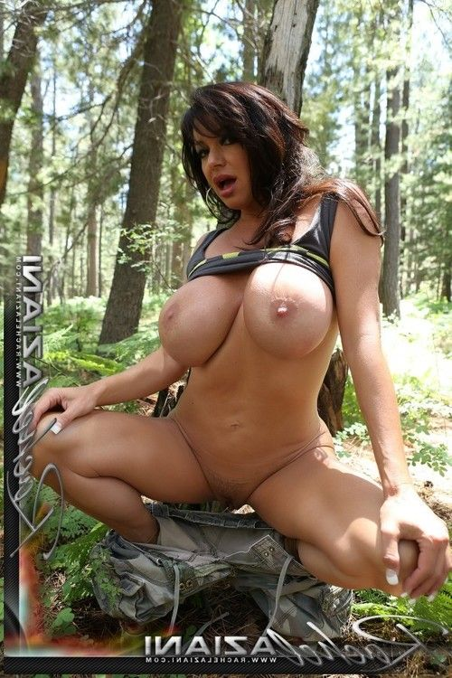 A slow sexy erotic dance out in nature with the hot Rachel Aziani.