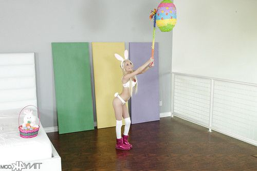 Youthful princess Piper Perri posing for cosplay photo photos in boots and long socks