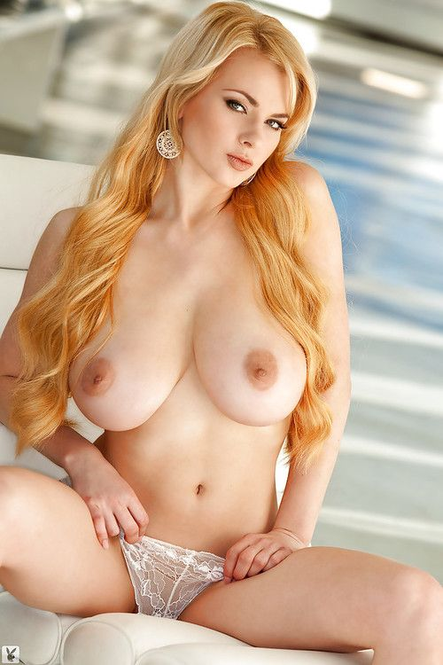 Hot fairy-haired with big knockers Sasha Bonilova fascinating off her lacy panties