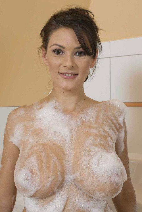 Babe showering