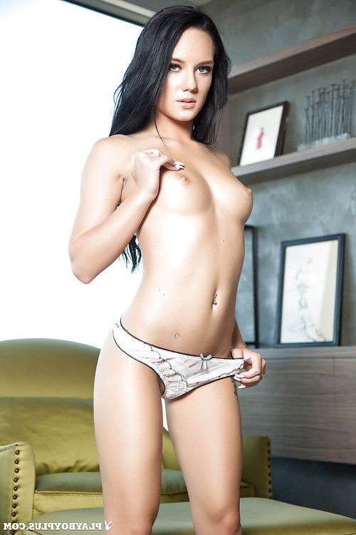 Lass centerfold Meghan Leopard shows her tattooed naked shape