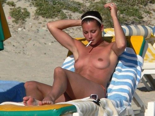 Real youthful girlfriends having beach sex