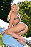 Tracy Lindsay supermodels extreme poolside pleasures exposed