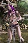 Cosplayerotica gaming doll angela g