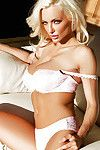 Lindsey Pelas showing hot lingerie and masturbating on camera