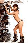 Petite princess Andra Chiorascu showcasing her seductive curves