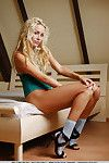 This very hot blonde girl named Liza will blow you away with her sexy eyes and seductive body