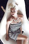 Big-tit fairy Alissa Arden shows off her attractive big boobies on camera