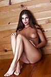 Secret raunchy passion of centerfold brunette Lia Taylor gets uncovered