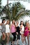 Bald uterus teens in island erotica shoot