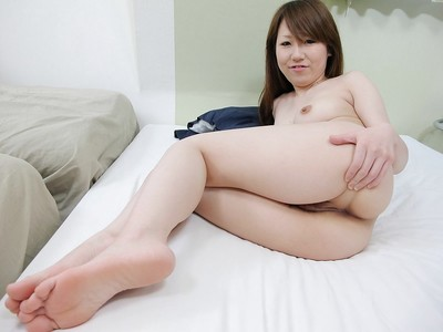 Bawdy Chinese young Maya Araki way uncovered and gains her fur pie vibed