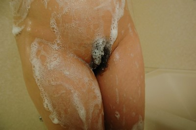 Captivating Japanese MILF Mai Ishiduka has some soapy getting pleasure in the bath