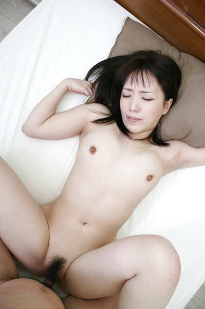 Japanese marsh mellow Satsuki Ejiri has some fur pie fingering and compulsion liking