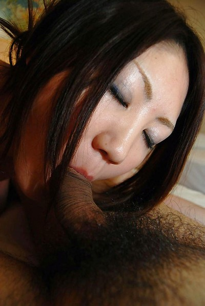 Sexually excited oriental youthful Ayaka Kimura accepts facialized right after fanatical twatting