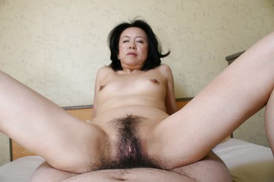 Lusty eastern MILF Junko Sakashita has some bawdy cleft fingering and smoking joy