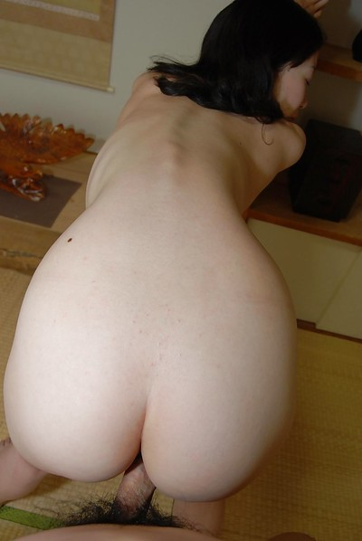 Lusty eastern MILF with unshaved cage of love receives penetrated and facialized right after shower-room