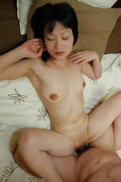 Oriental chicita with saggy woman passports gives head and accepts her smooth head wet crack plugged massive