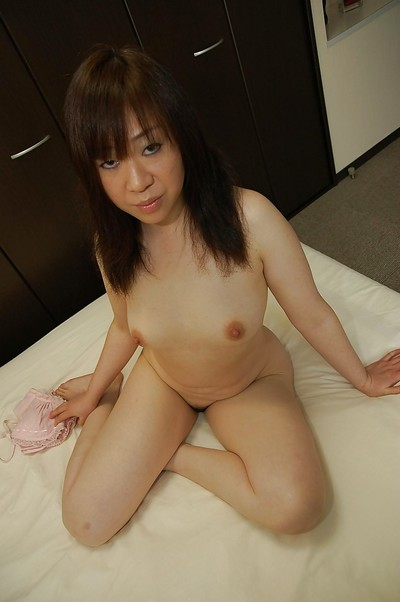 Eastern MILF in cylinder Junko Takeyama uncovering her fuckable changes direction