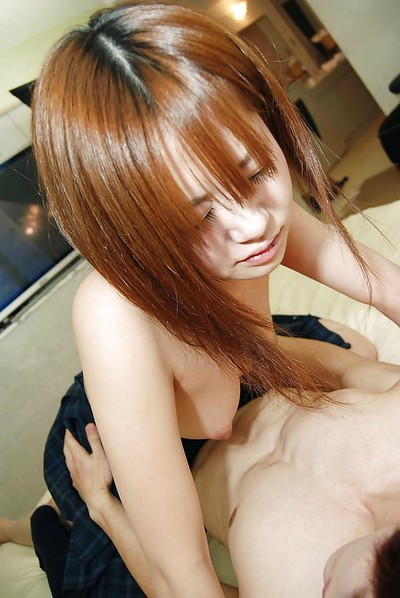 Japanese youthful acquires her furry uterus licked properly and harshly screwed