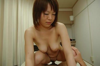 Asami Noda attains screwed and makes public her creampied wet crack in close up