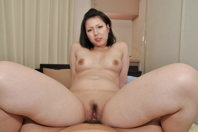 Japanese MILF Aya Uchiyama purchases her shaggy gentile pumped and creampied