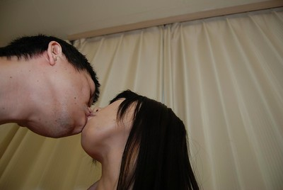 Lean japanese MILF gives a oral sex and benefits from her bushy love-cage gangbanged hard