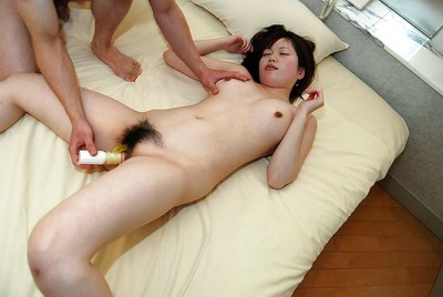 Yukari Fukada enjoys dedicated love making act enjoy and benefits from her cum-hole creampied
