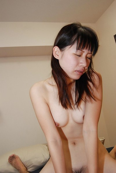 Eastern infant Miyuki Itou gives head and gains her wavy slit nailed rough