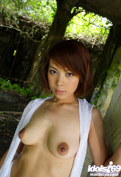Chinese queen Minami Aikawa uncovering her undersize woman passports and hirsute wet crack outdoor