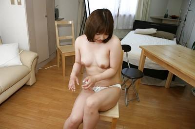 Charming eastern MILF Reiko Kawahara accepts nude and enjoys cunnilingus