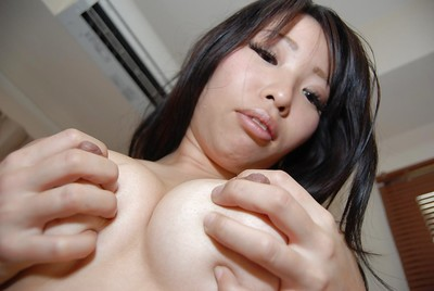 Japanese youthful Rika Hirashita takes her clothes off down and receives involved fall in love with vibrators take part in