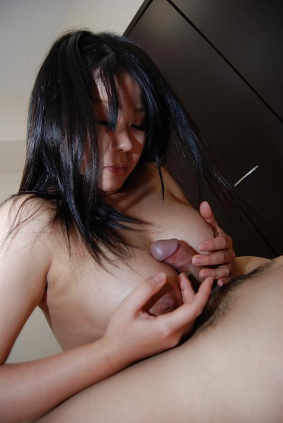 Titsy Japanese infant Natsuki Arai enjoys a keen fucking action with her fellow