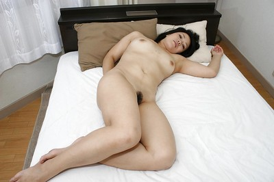 Chinese queen Tomoe Asai undresses down and has some wet crack toying and fingering joy