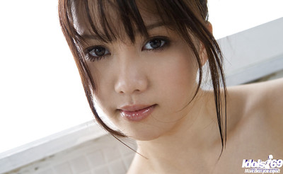 Immense busted oriental queen Mai Nadasaka erotic dance and attractive shower-room
