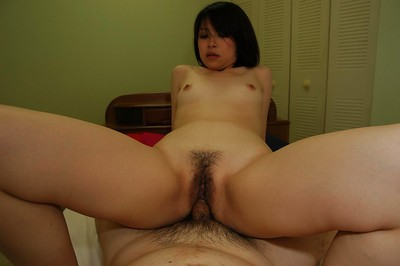 Chinese youthful Maki Yoshikawa gives head and acquires nailed in close up