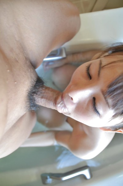 Eastern juvenile Ayaka Oda gobbles a heavy 10-Pounder and attains her shaggy vagina nailed