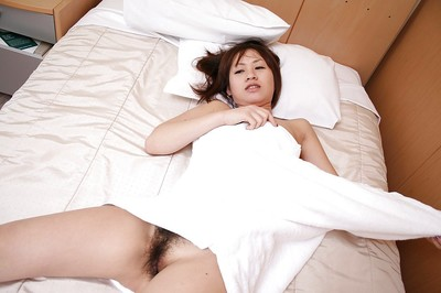 Eastern young Chinatsu Minami has some cage of love fingering enjoyment subsequently baths
